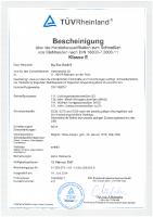 DIN-18800-7-Zertifikat